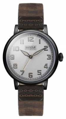 Barbour Hawkins Mens Watch Grey Dial BB042SLBR