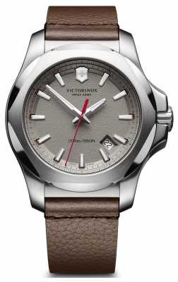 Victorinox Swiss Army I.N.O.X. Brown Leather 43mm 241738
