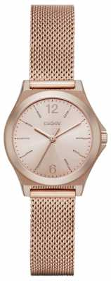 DKNY Parsons Ladies Rose Gold NY2489