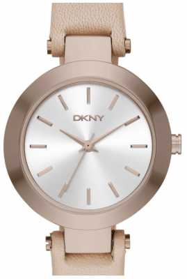 DKNY Womens Stanhope Tan Leather Strap NY2457