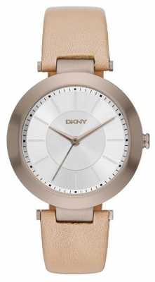 DKNY Womens Stanhope Tan Leather Strap NY2459
