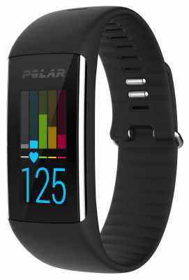 Polar Unisex A360 Black (Medium) Activity Tracker 90057421