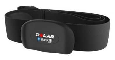 Polar Unisex H7 Black Heart Rate Sensor Black XS-S 92054032
