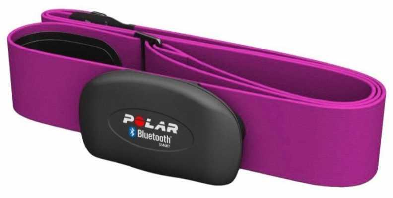 Polar Unisex H7 Pink Heart Rate Sensor M-XXL 92053186
