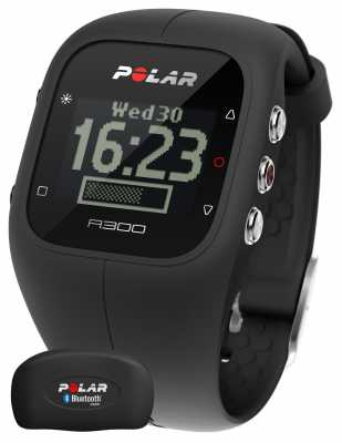 Polar Unisex A300 Activity Tracker (Black with HR) 90051953
