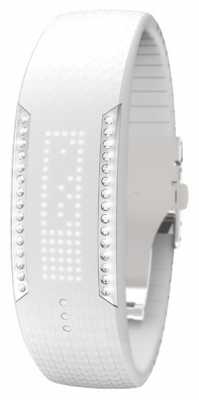 Polar Unisex Loop 2 Swarovski Crystal White Activity Tracker 90057756