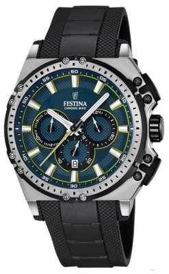 Festina 2016 Chronobike Mens Chronograph Watch Black F16970/3