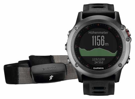 Garmin Unisex Fenix 3 Grey Performance Bundle 010-01338-11