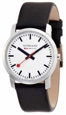 Mondaine Womens Simply Elegant Black Leather A672.30351.11SBB