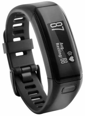 Garmin Unisex Vivosmart HR With Wrist Based Heart Rate Monitor 010-01955-00