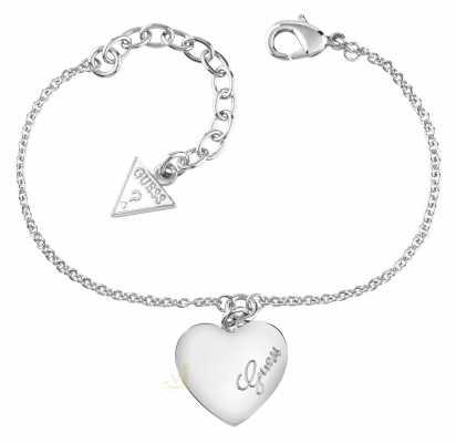 Guess Womens Heartbeat Stainless Steel Bracelet UBB61043-L