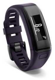 Garmin Unisex Vivosmart HR Purple (Wrist Based Heart Rate Monitor) 010-01955-01