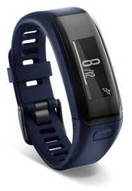 Garmin Unisex Vivosmart HR Blue (Wrist Based Heart Rate Monitor) 010-01955-02