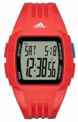 adidas Performance Unisex Red Duramo Alarm Chronograph ADP3238