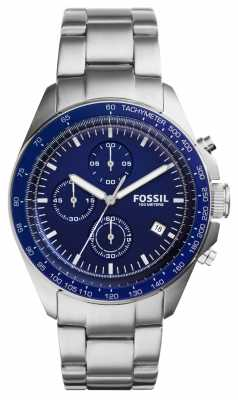Fossil Mens Sport 54 Stainless Steel Chronograph CH3030