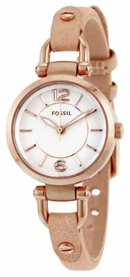 Fossil Womens Georgia Mini Tan Leather Strap ES3745