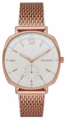 Skagen Womens Rungsted Rose PVD Plated Mesh Strap SKW2401