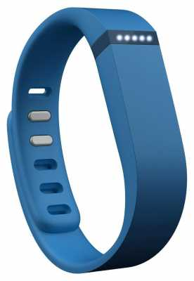 Fitbit Flex Wireless Activity And Sleep Tracker Wristband Blue FB401BU