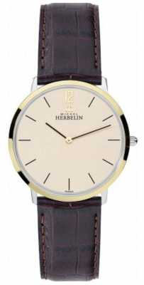 Michel Herbelin Slim Case Ikone Watch 17415/T17MA