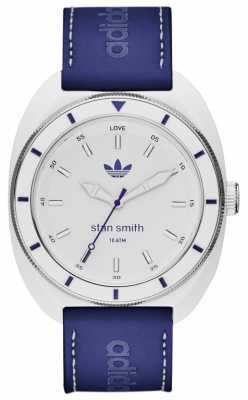 adidas Originals Mens Stan Smith Blue Leather Strap ADH9087
