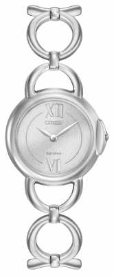 Citizen Womens Stainless Steel Silver Dial EX1450-59A