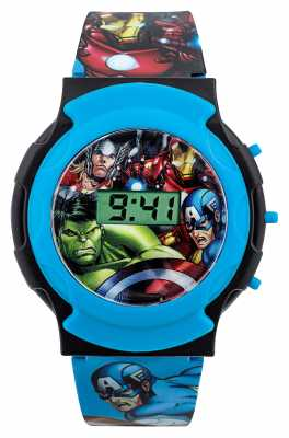 Avengers Childrens Avengers Digital Blue Strap AVG3581