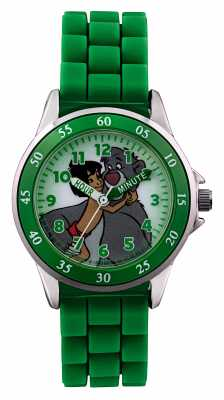 Disney Princess Childrens Jungle Book Green Strap JBK3007