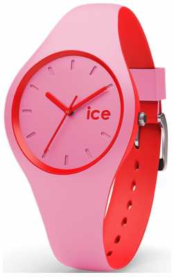 Ice-Watch Womans Duo Pink Red Pink Strap DUO.PRD.S.S.16