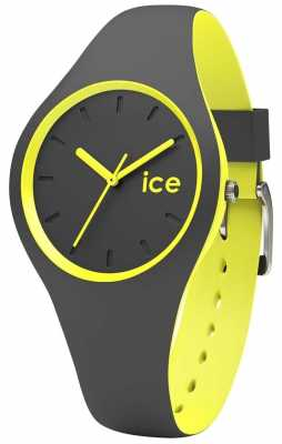 Ice-Watch Duo Anthracite Silicone Strap DUO.AYW.S.S