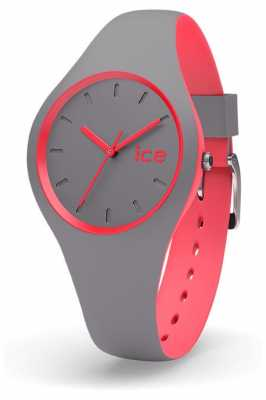 Ice-Watch Duo Grey Coral Grey Silicone Strap DUO.DCO.S.S.16