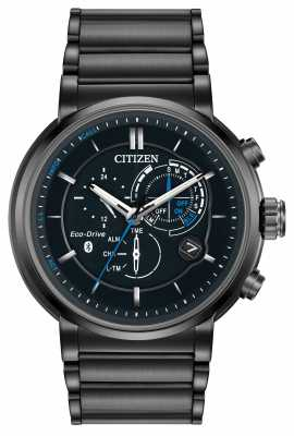 Citizen Mens Proximity Bluetooth Smartwatch Eco-Drive IP Plated BZ1005-51E