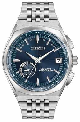 Citizen Satellite Wave World Time GPS Blue Dial CC3020-57L
