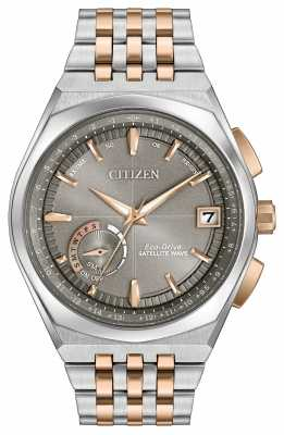 Citizen Mens Eco-Drive Satellite Wave GPS Two Tone CC3026-51H