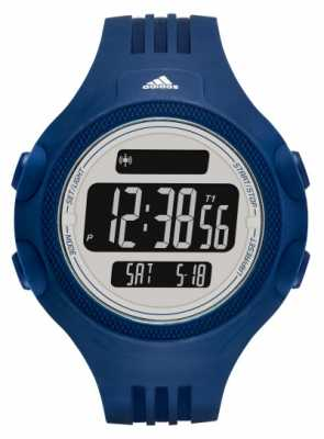 adidas Performance Mens Blue Rubber Strap Digital Dial ADP3266