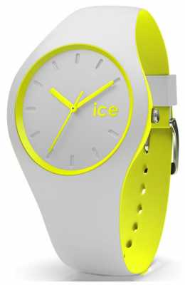 Ice-Watch Duo Grey Silicone Strap DUO.GYW.S.S