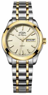 Rotary Mens Les Originales Legacy Stainless Steel GB90174/03
