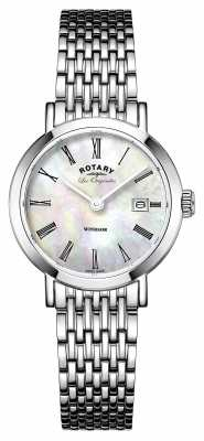 Rotary Womens Les Originales Windsor Stainless Steel LB90153/07