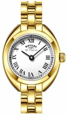 Rotary Womens Les Originales Lucerne Gold PVD Plated LB90160/01