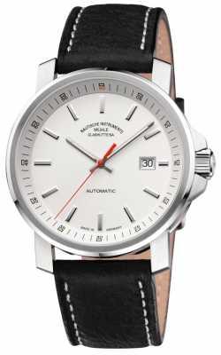 Muhle Glashutte 29er Big Leather Band White Dial M1-25-31-LB
