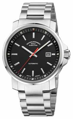 Muhle Glashutte 29er Big Stainless Steel Band Black Dial M1-25-33-MB