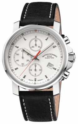 Muhle Glashutte 29er Chronograph Leather Band White Dial M1-25-41-LB