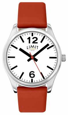 Limit Womens Red Strap White Dial 6183.01