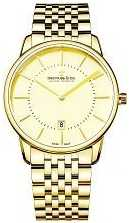 Dreyfuss Mens Gold Bracelet With Date DGB00136/03