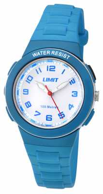 Limit Kids Blue Resin Strap White Dial 5593.24