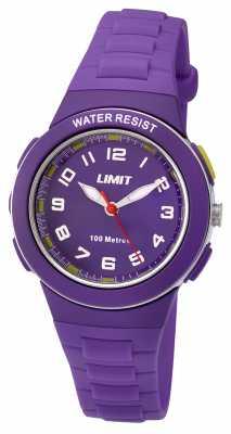 Limit Kids Purple Resin Strap Purple Dial 5594.24