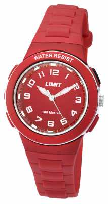 Limit Kids Red Resin Strap Red Dial 5595.24