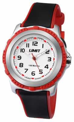 Limit Kids Active Black Resin Strap White Dial 5598.24