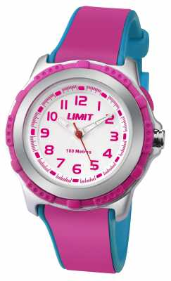 Limit Kids Active Pink Resin Strap White Dial 5599.24