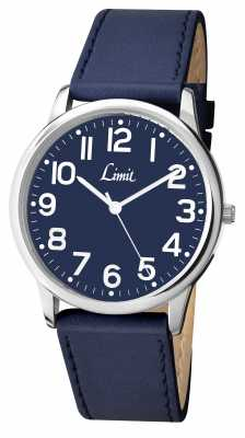 Limit Mens Blue Strap Blue Dial 5606.35