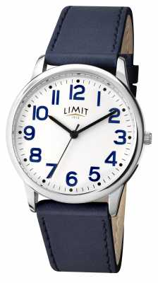 Limit Mens Blue Strap White Dial 5613.35